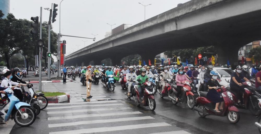 Tổ chức điều tiết giao thông dịp Tết, đảm bảo phòng chống dịch Covid-19