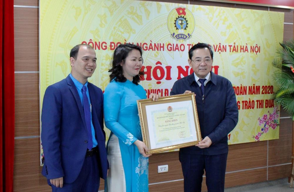 Công đoàn ngành Giao thông Vận tải Hà Nội: Hoàn thành tốt các nội dung, chương trình công tác