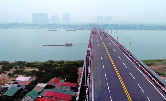 Diện mạo mới của cầu Thăng Long