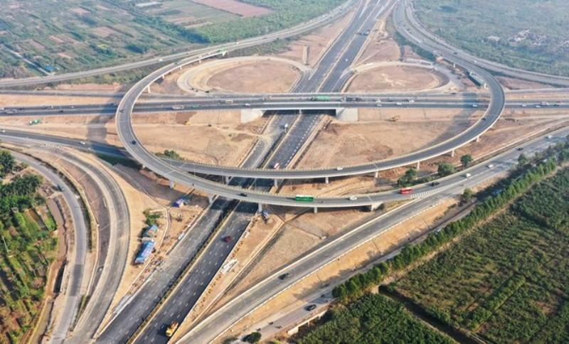 Từ chiều 9/1, thực hiện phân luồng giao thông khu vực nút giao cao tốc Hà Nội – Hải Phòng