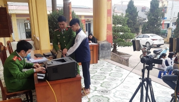 Huyện Ba Vì phấn đấu cấp Căn cước công dân gắn chíp cho 97.000 công dân