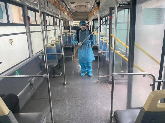 Kiểm soát chặt việc phòng chống dịch Covid-19 tại các bến xe Hà Nội