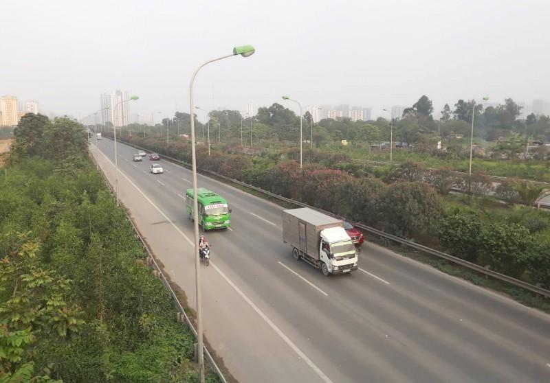 Hà Nội phân luồng giao thông sửa chữa Đại lộ Thăng Long