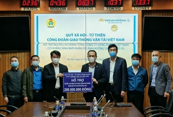 Hỗ trợ hơn 400 triệu đồng tới lao động Hàng không dịp Tết Nguyên đán