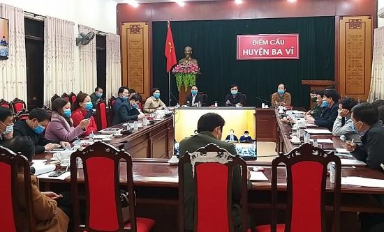 Huyện Ba Vì: Tăng cường công tác phòng chống dịch Covid-19 trong dịp Tết Nguyên đán