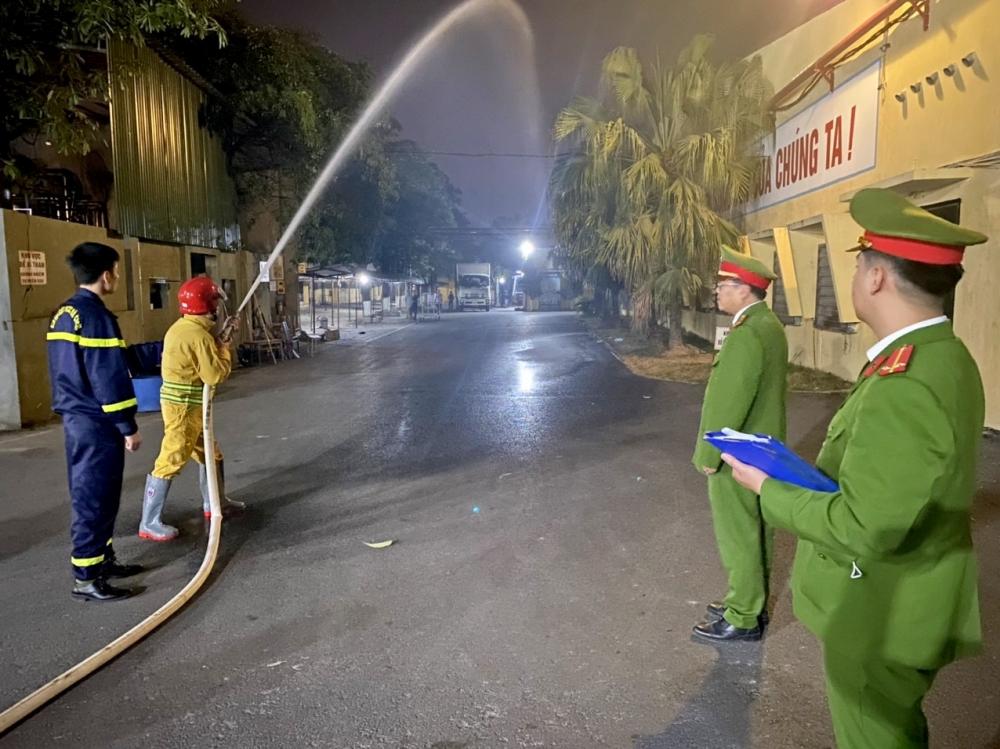 Sơn Tây kiểm tra đột xuất các cơ sở tiềm ẩn nguy cơ cháy nổ cao