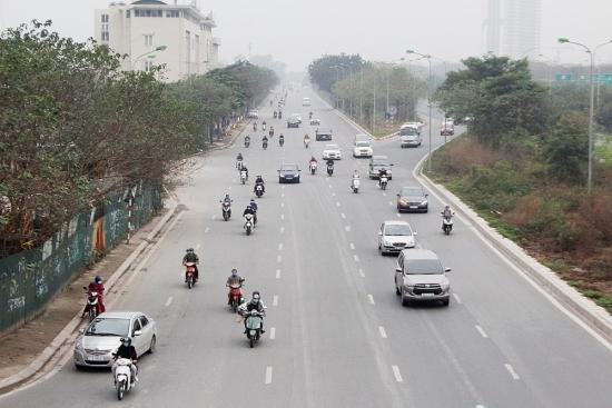 """Cuối kỳ nghỉ Tết, người dân đổ về Thủ đô song giao thông vẫn """"hạ nhiệt"""""""