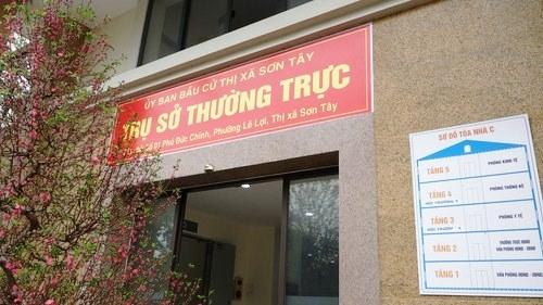 Từ ngày mai (22/2) Sơn Tây tiếp nhận hồ sơ ứng cử đại biểu Hội đồng nhân dân thị xã
