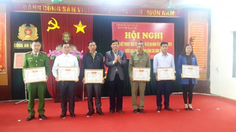 Huyện Ba Vì: An ninh chính trị được giữ vững