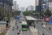 Tăng tần suất hoạt động của xe buýt nhanh BRT: Cần xử nghiêm hành vi lấn làn!