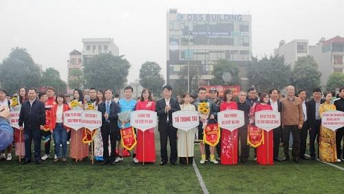 Khai mạc Giải bóng đá Mini trong CNVCLĐ năm 2019