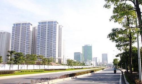 Hà Nội phân luồng thi công tuyến đường Nguyễn Văn Huyên