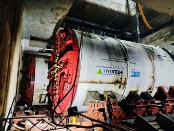 Sẵn sàng cho việc khoan hầm tuyến Đường sắt đô thị số 3, đoạn Nhổn – ga Hà Nội