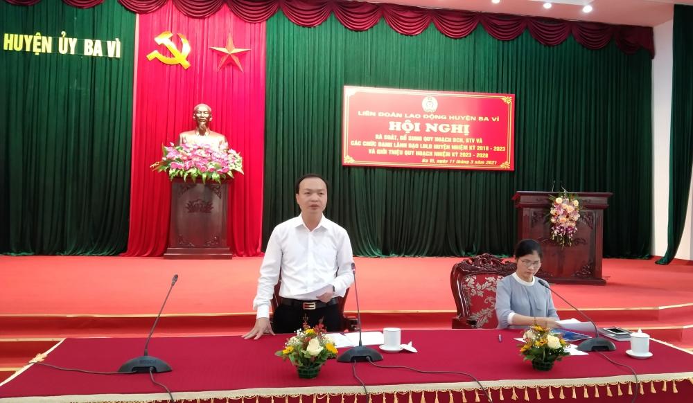 Giới thiệu nhân sự tham gia ứng cử Đại biểu Hội đồng nhân dân huyện