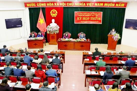 Sơn Tây nâng cao chất lượng hoạt động của Hội đồng nhân dân các cấp