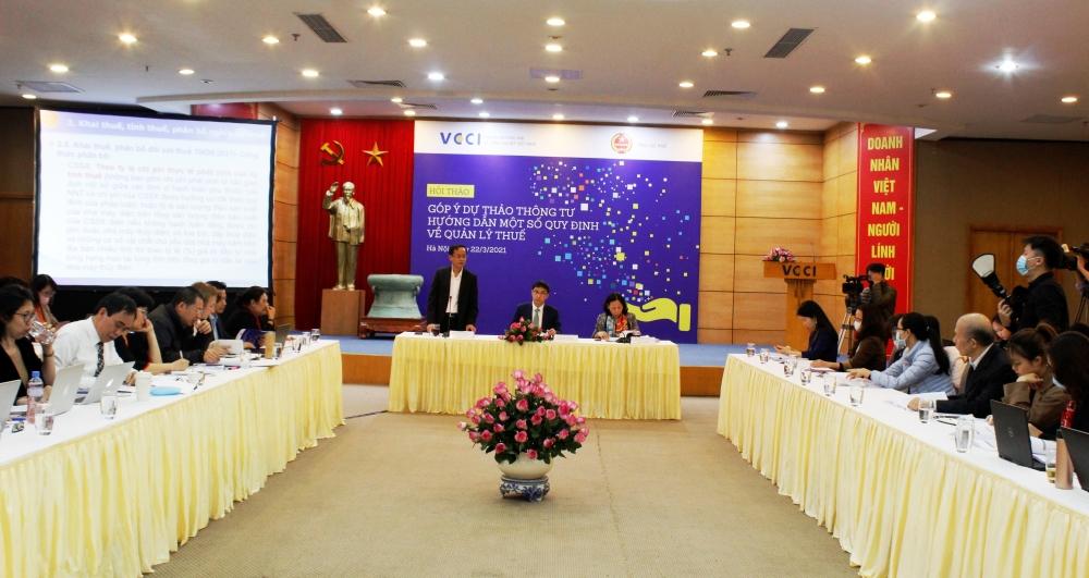 Góp ý Dự thảo Thông tư hướng dẫn một số quy định về quản lý thuế