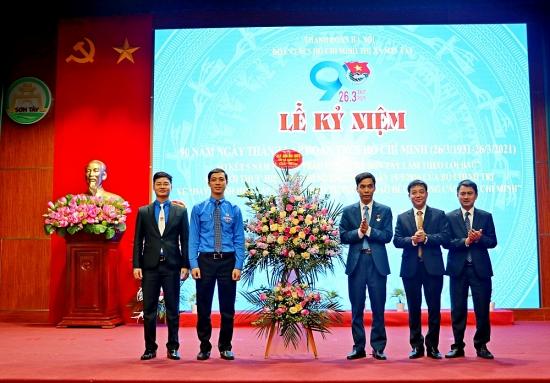 Sơn Tây kỷ niệm 90 năm thành lập Đoàn Thanh niên Cộng sản Hồ Chí Minh