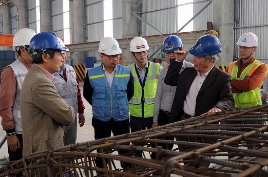 Sắp sản xuất vỏ hầm của tuyến đường sắt đô thị số 3, đoạn Nhổn - ga Hà Nội