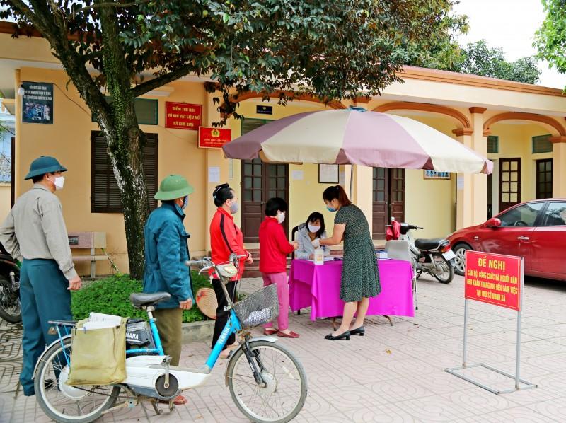 Sơn Tây khảo sát công tác phòng, chống dịch Covid-19 tại các xã phường