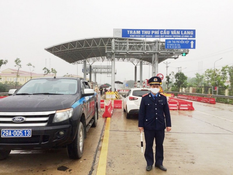 Thanh tra giao thông tăng cường phối hợp tại các chốt kiểm soát nơi cửa ngõ