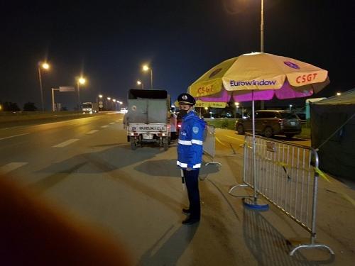 Nhiều nỗ lực chặn dịch nơi cửa ngõ Thủ đô