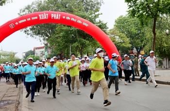 Sơn Tây hưởng ứng Ngày chạy Olympic vì sức khỏe toàn dân