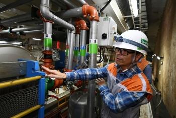 Nghiệm thu chạy thử máy đào hầm tuyến đường sắt đô thị Nhổn - ga Hà Nội