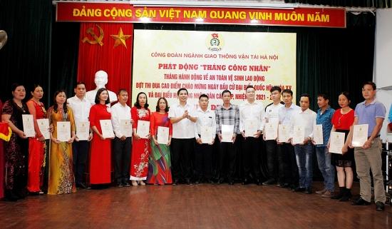 Công đoàn ngành Giao thông Vận tải Hà Nội: Phát huy hiệu quả từ các phong trào thi đua