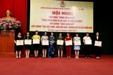 Đẩy mạnh các phong trào thi đua trong nữ CNVCLĐ