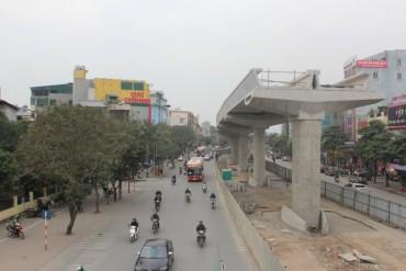 Tổ chức phân luồng nhiều tuyến đường phục vụ thi công đường sắt trên cao