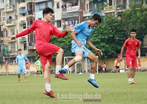 Từ ngày 4/5: Diễn ra Giải bóng đá Công nhân viên chức lao động thị xã Sơn Tây