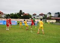 Sắp diễn ra trận tranh tài giành ngôi vô địch Giải bóng đá CNVCLĐ thị xã Sơn Tây