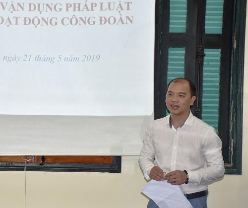 cong doan nganh gtvt ha noi to chuc tap huan nghiep vu cong tac cong doan nam 2019