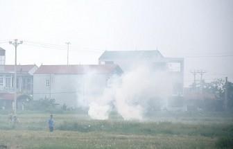 Không đốt rơm rạ để giảm ô nhiễm không khí