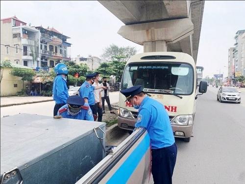 Đẩy mạnh xử lý vi phạm hành chính trong hoạt động vận tải hành khách