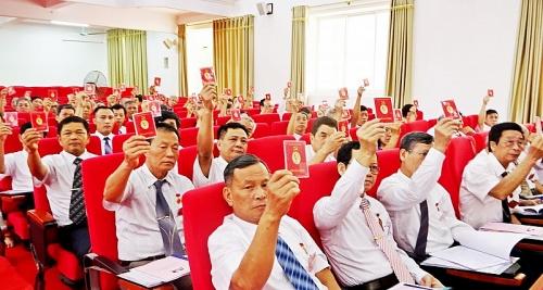 son tay tap trung to chuc thanh cong dai hoi dang cac cap nhiem ky 2020 2025