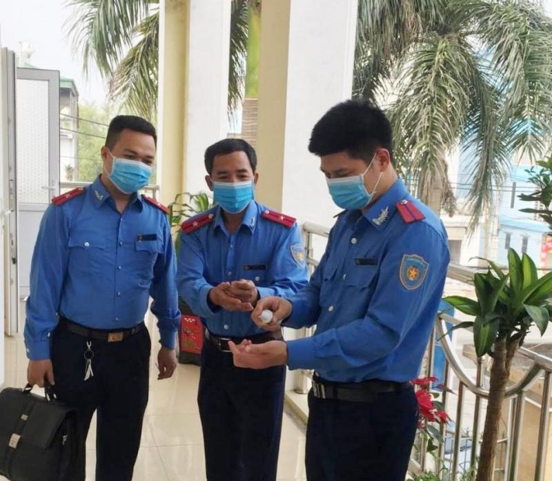 Thanh tra Sở Giao thông vận tải Hà Nội tăng cường công tác phòng, chống dịch Covid-19