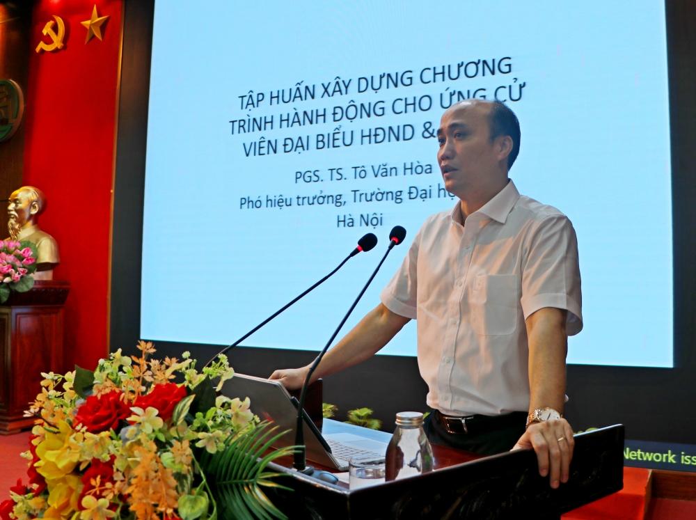 Sơn Tây gặp mặt ứng cử viên đại biểu Quốc hội và Hội đồng nhân dân các cấp
