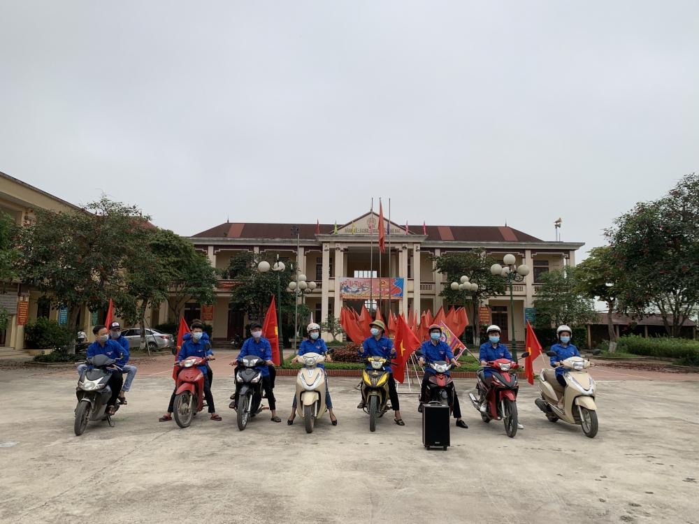Huyện Ba Vì: Phát huy Tổ xung kích tuyên truyền lưu động phòng, chống Covid-19