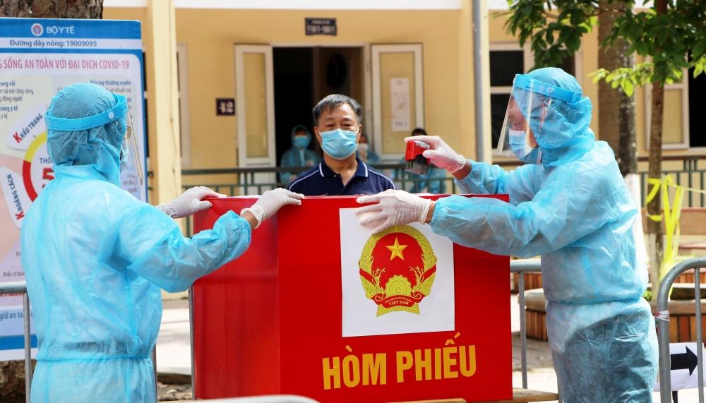 Phòng, chống dịch Covid-19, bảo đảm an toàn cho ngày bầu cử