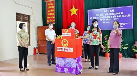 Thị xã Sơn Tây sẵn sàng để ngày bầu cử thành công