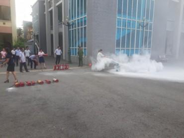 Tập huấn phòng cháy chữa cháy cho CNVCLĐ