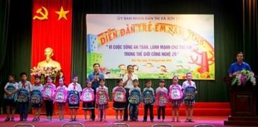 Xây dựng môi trường sống an toàn, lành mạnh cho trẻ em
