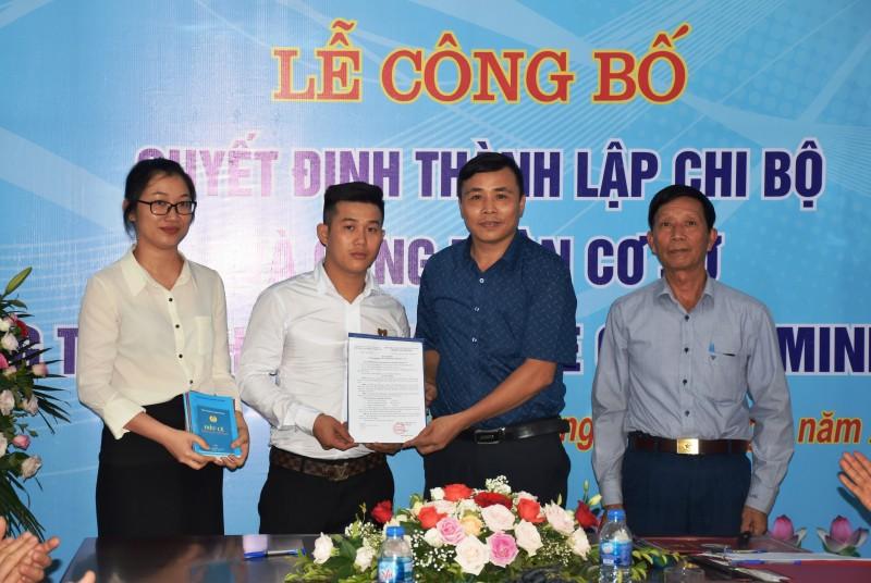 Ra mắt Công đoàn Công ty TNHH Đăng kiểm xe cơ giới Minh Hưng