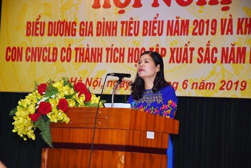 cong doan nganh gtvt ha noi bieu duong gia dinh cnvcld tieu bieu nam 2019