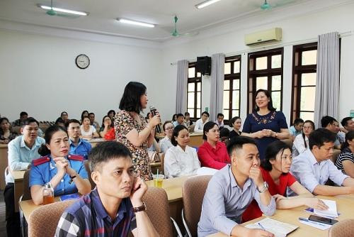 Công đoàn ngành Giao thông vận tải Hà Nội tập huấn nghiệp vụ cho trên 200 cán bộ công đoàn