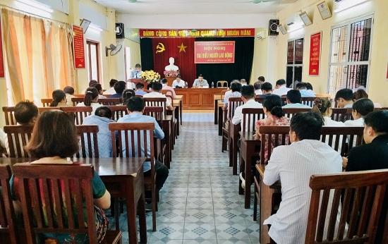 Tổ chức Hội nghị Người lao động năm 2020