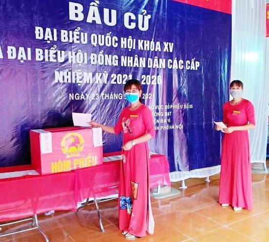 Huyện Ba Vì công bố kết quả bầu cử đại biểu Hội đồng nhân dân, nhiệm kỳ 2021-2026