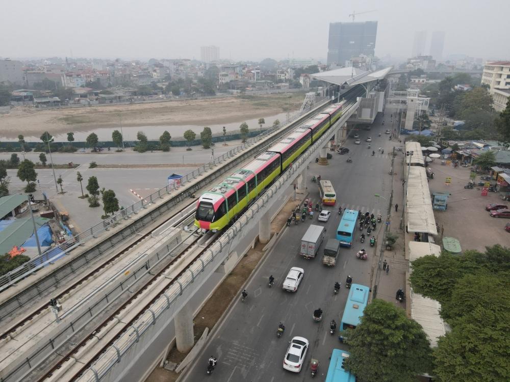 """Hà Nội lập Tổ Công tác liên ngành """"thúc"""" tiến độ dự án Đường sắt đô thị đoạn Nhổn - Ga Hà Nội"""