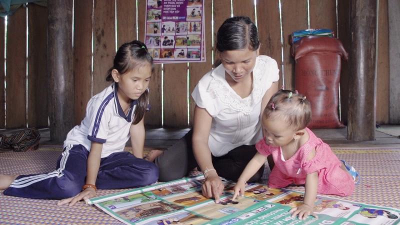 Nâng cao chất lượng giáo dục mầm non vùng khó khăn